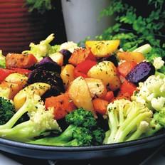 香烤五菜时蔬