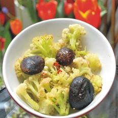 黑胡椒烤有机花菜
