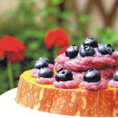 蓝莓南瓜山药泥