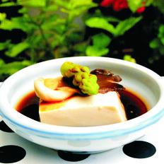 凉拌菌菇豆腐