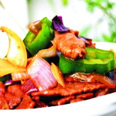 洋葱炒牛肉片
