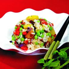 土豆花式炒饭