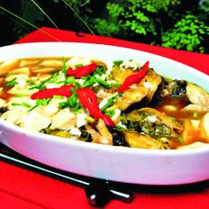 昂刺鱼烧豆腐