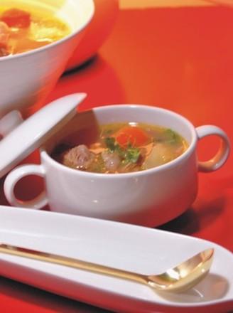土豆西红柿牛腩汤的做法