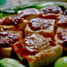 三鲜酿豆腐