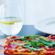 意式薄底披萨附自制披萨酱