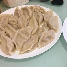白菜大虾饺子
