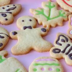 杏仁饼干,不开心的时候就吃这个吧~