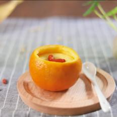 【香橙蒸蛋】