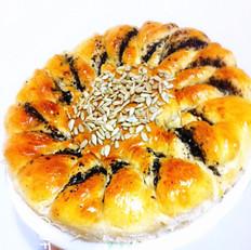 向日葵大面包