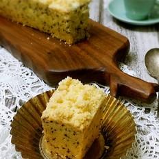 黑芝麻椰蓉酥粒磅蛋糕