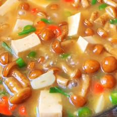 滑菇溜豆腐