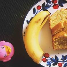 让你唇齿留香的香蕉磅蛋糕