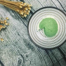 抹茶香草双色冰淇淋
