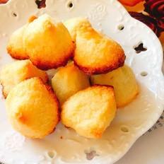 香浓诱人的椰香岩饼