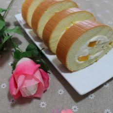 芒果奶油蛋糕卷