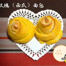 黄玫瑰面包