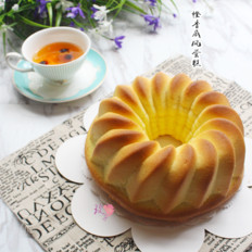 美味橙香戚风蛋糕