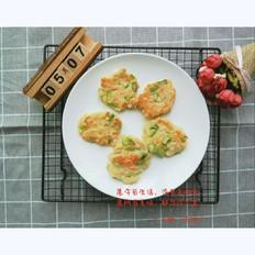 芦笋豆腐虾饼