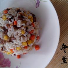 干肠玉米炒饭