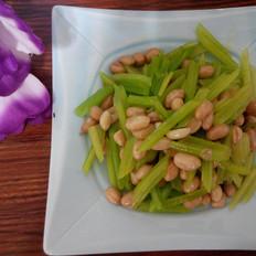 熗芹菜花生米