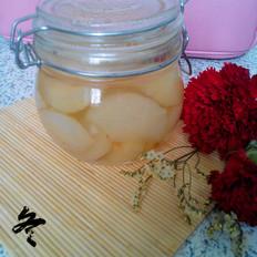 自制香梨罐头