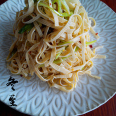葱香干豆腐