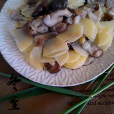 香菇炒土豆片
