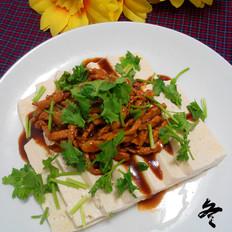 蚝油肉丝豆腐
