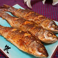 香辣烤草鱼