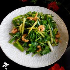 东北虾皮老虎菜