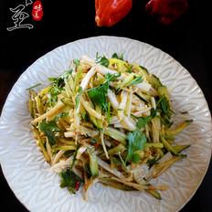 白菜拌黄瓜