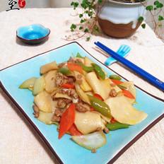 肉末炒饺子皮