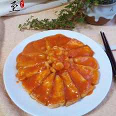 洪福齐天(  虾仁豆腐)