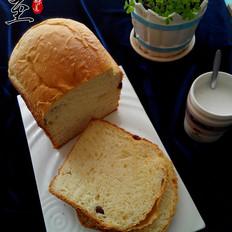 一键式葡萄干欧式面包的做法