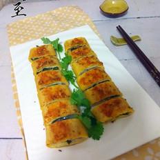 烤干豆腐卷
