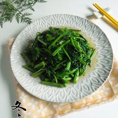 蒜蓉炒空心菜