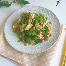 腐竹芹菜拌花生