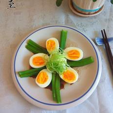 白灼秋葵鸡蛋