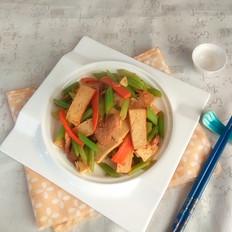素鸡炒芹菜