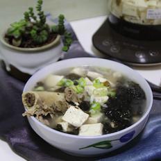 豆腐紫菜骨头汤