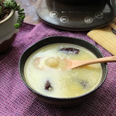 大枣桂圆小米粥