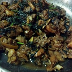 豆豉紫苏鸭