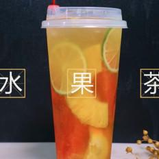 优闲狐-喜茶水果茶是怎么做的?