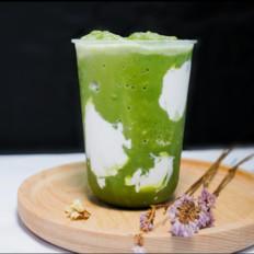 網紅飲品--藍天白云奶茶的做法