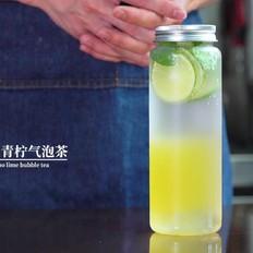 人生当中不可错过的气泡水饮料最新配方,波波青柠气泡茶
