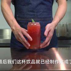 自制奶茶,网红奶茶西瓜波波做法