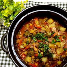 马其顿Turli tava炖肉烩