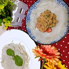 南苏丹Salatit Zabadi(酸奶茄子沙拉)