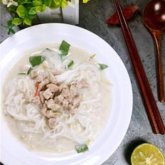 老挝椰子汤粉